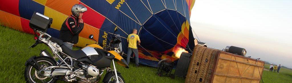 Guia de viagem e Aventura de moto